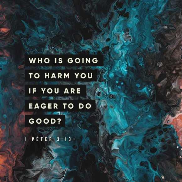 1 Peter 3:13 NIV