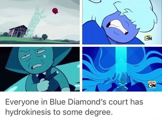 everyone in blue diamond