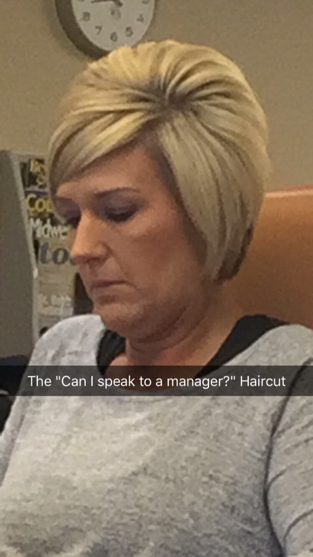 Can I Speak To A Manager Haircut : speak, manager, haircut, Speak, Manager?