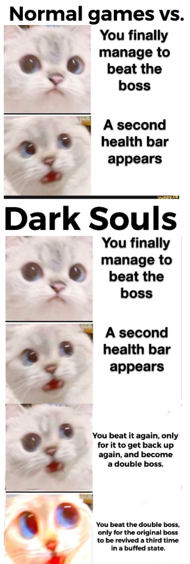 Dark Souls Boss Health Bar : souls, health, Normal, Games, Finally, Manage, Asecond, Souls, Appears, IFunny