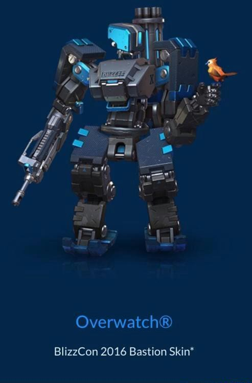 Bastion Blizzcon Skin : bastion, blizzcon, Overwatch®, BlizzCon, Bastion, Skin', IFunny