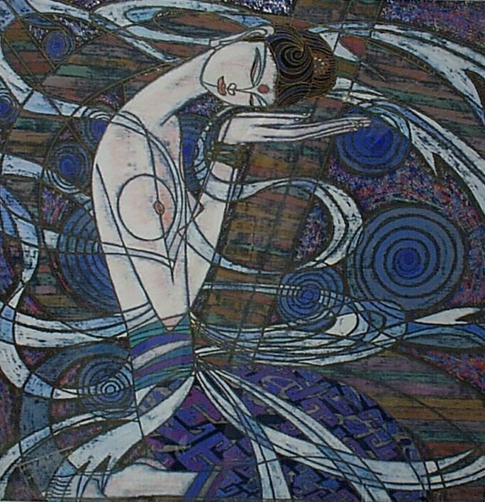 Contemporary Chinese Yunnan Artist Ting Shao Kuang