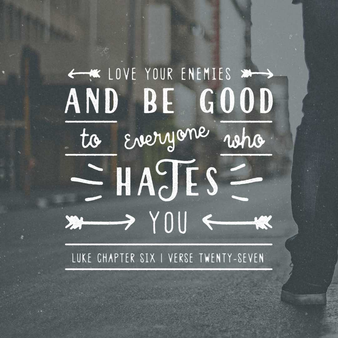 Bible Verse of the Day - day 193 - image 700 (Luke 6:28)