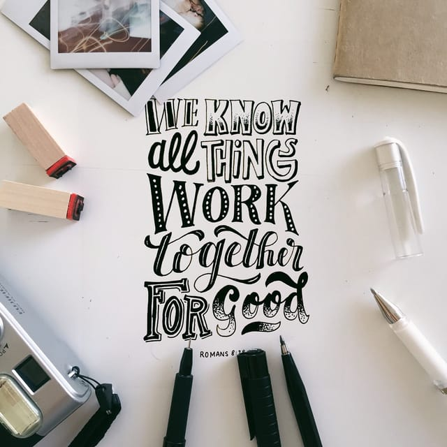 Romans 8:28 - https://www.bibl...
