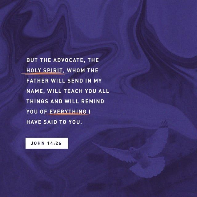John 14:26 - https://www.bibl...