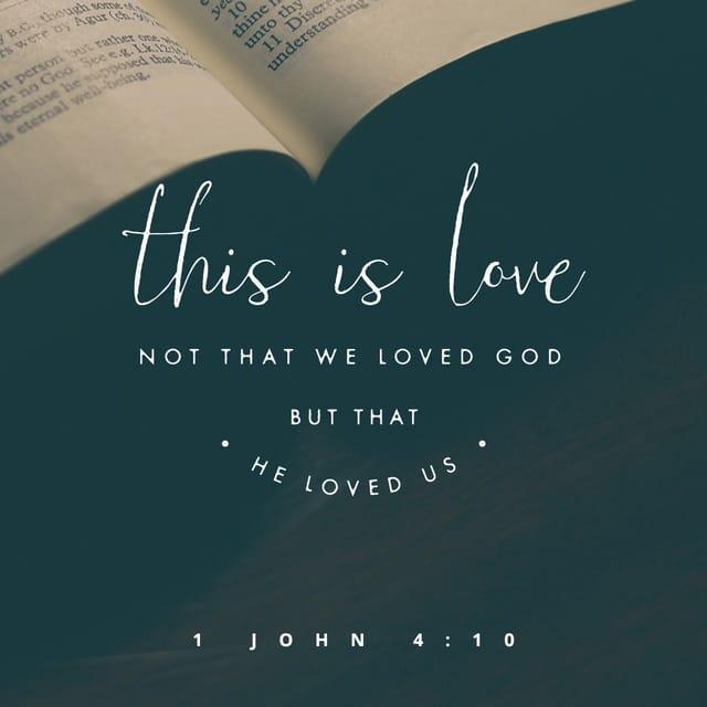 1 John 4:10 - https://www.bibl...