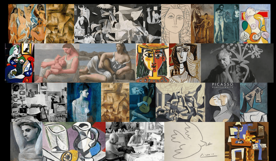 Imagequilt, Pablo Picasso, by Tufte and Schwartz