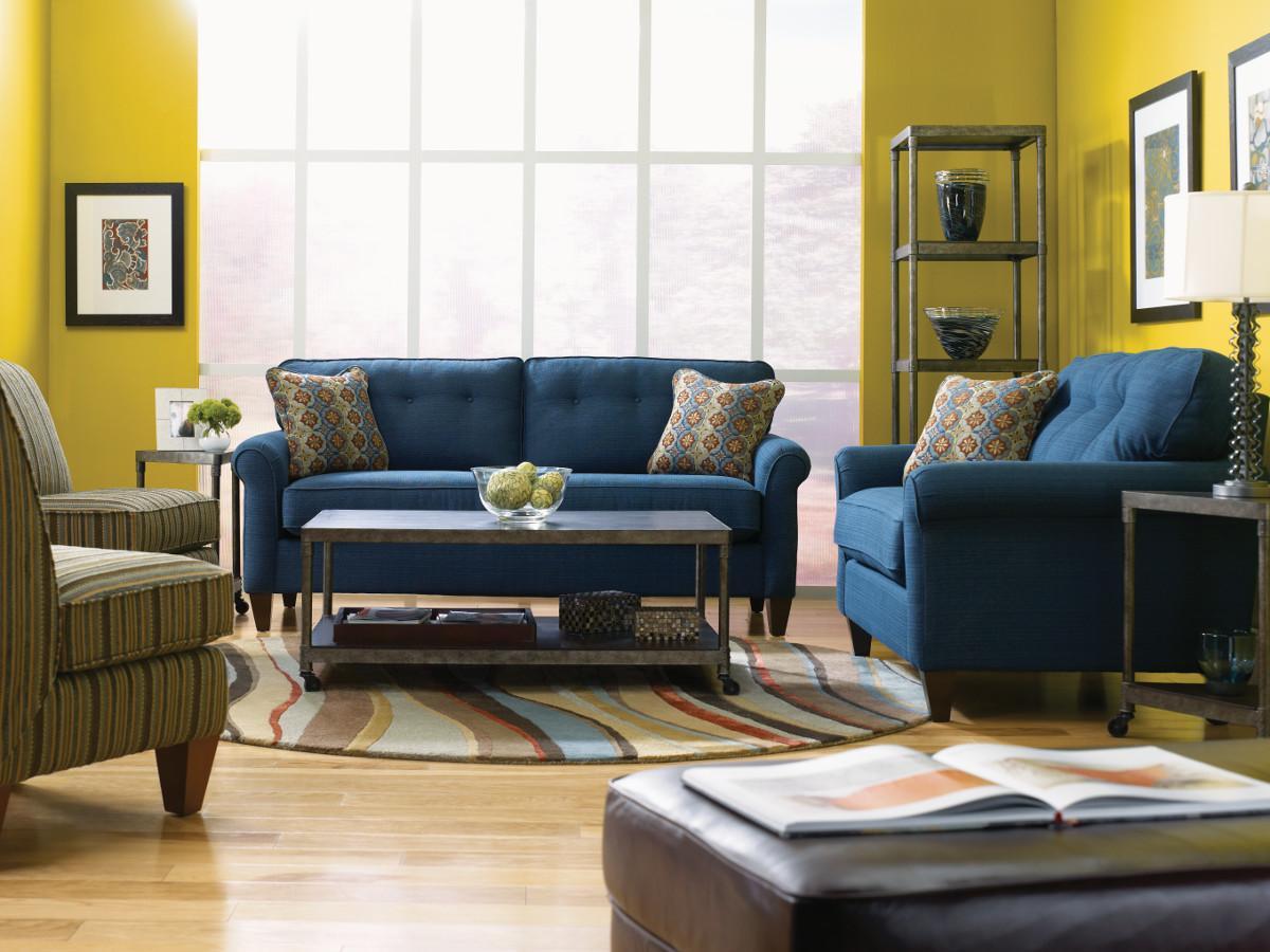 lazy boy living room diy canvas art la z laurel stationary group reid s furniture