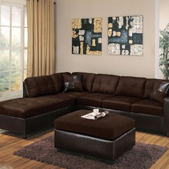 Acme Sectional Sofa Chocolate Madison Rattan Garden Furniture Corner Stool Dining Table Set Milano 10103 Contemporary Two Piece With Raf Chaise