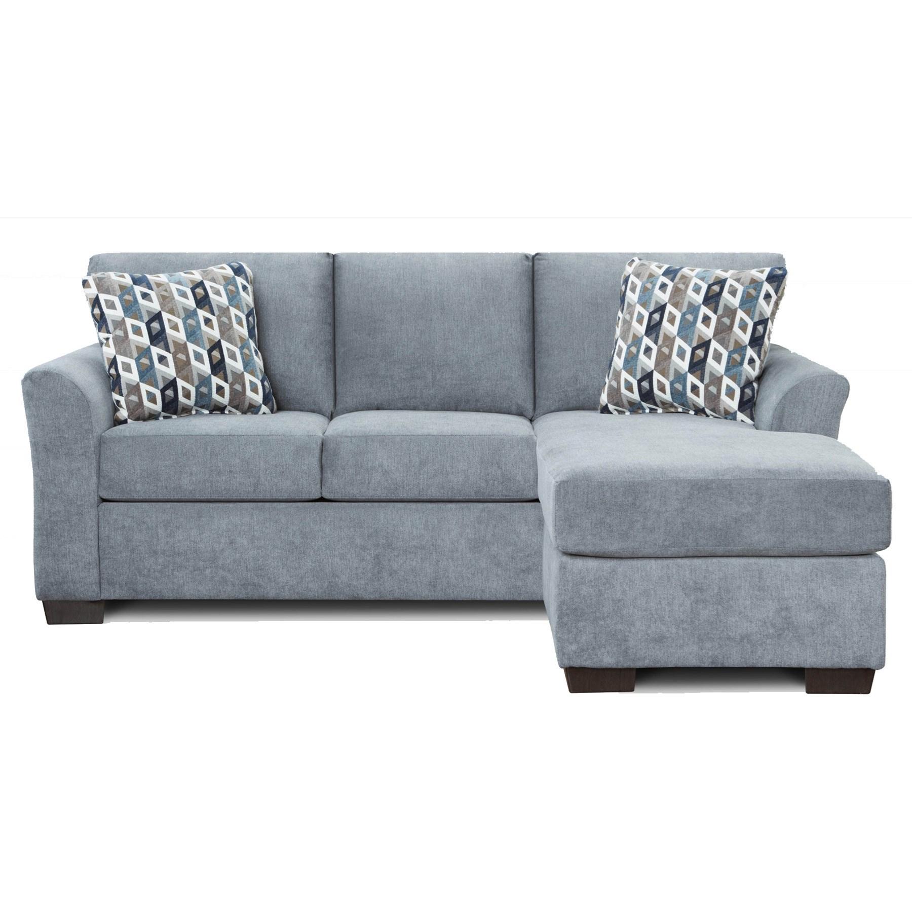 cosmopolitan 3900 queen sleeper sofa with chaise