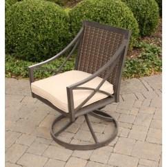 Outdoor Swivel Rocker Chair Mustard Yellow Alfresco Davenport With Woven Back Belfort