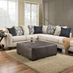8642 Transitional Sectional Sofa With Chaise By Albany Leather Sleeper Canada | Review Home Co