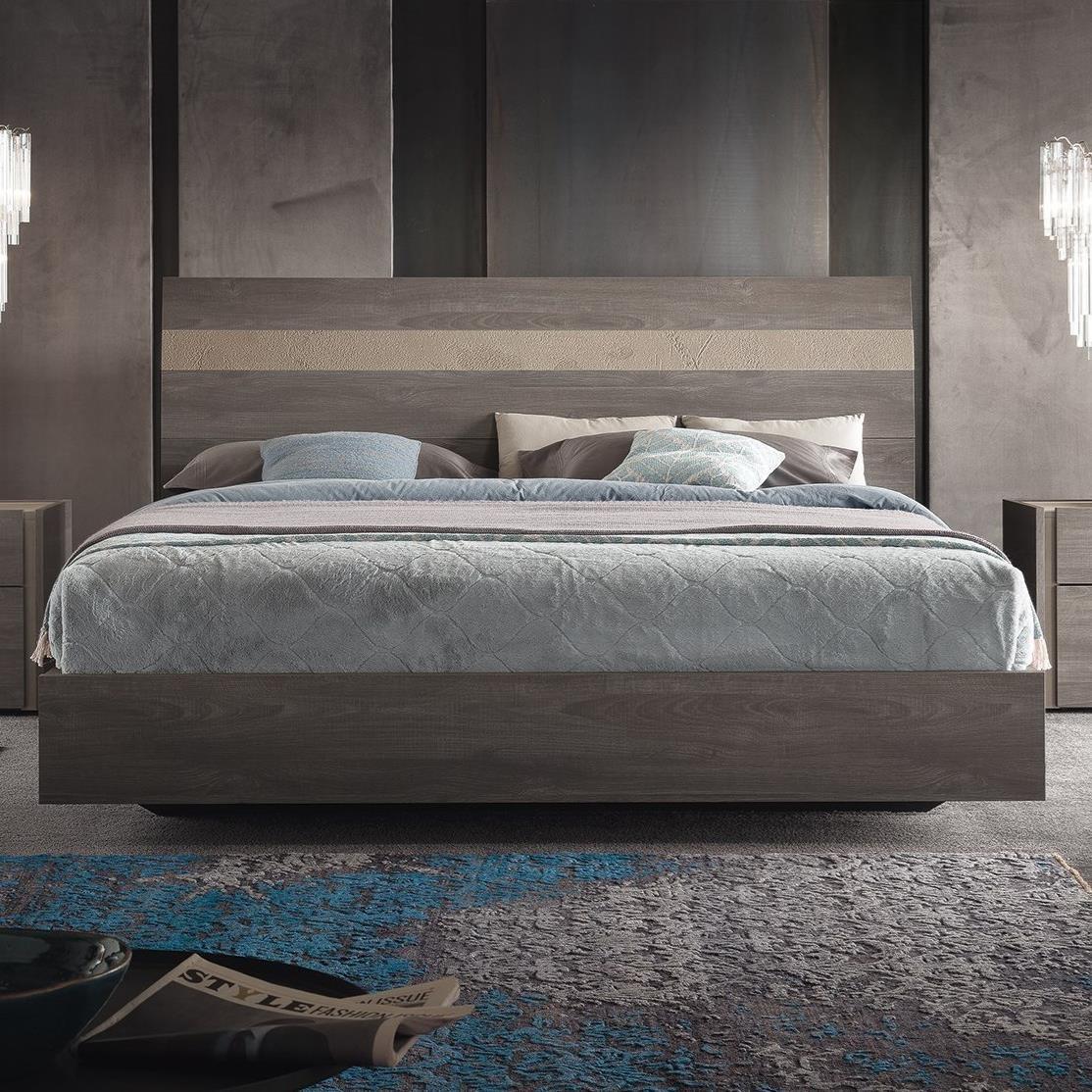 contemporary cal king platform bed
