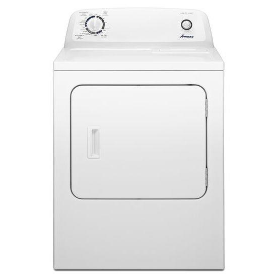 hight resolution of front load electric dryer with automatic dryness control by amana