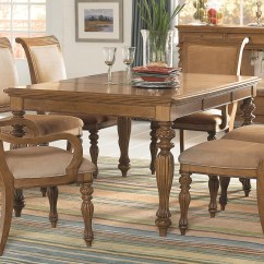 Island Inspired Living Room Furniture Best Colors Images American Drew Grand Isle Rectangular Turned Leg Dining Table With Carving Details