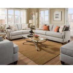 American Furniture Living Room Tables Flexsteel 3650 Stationary Group Beck S Groups