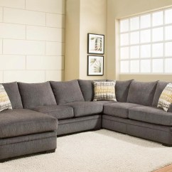 American Furniture Living Room Sectionals Modern Farmhouse Images 6800 Sectional Sofa With Left Side Chaise