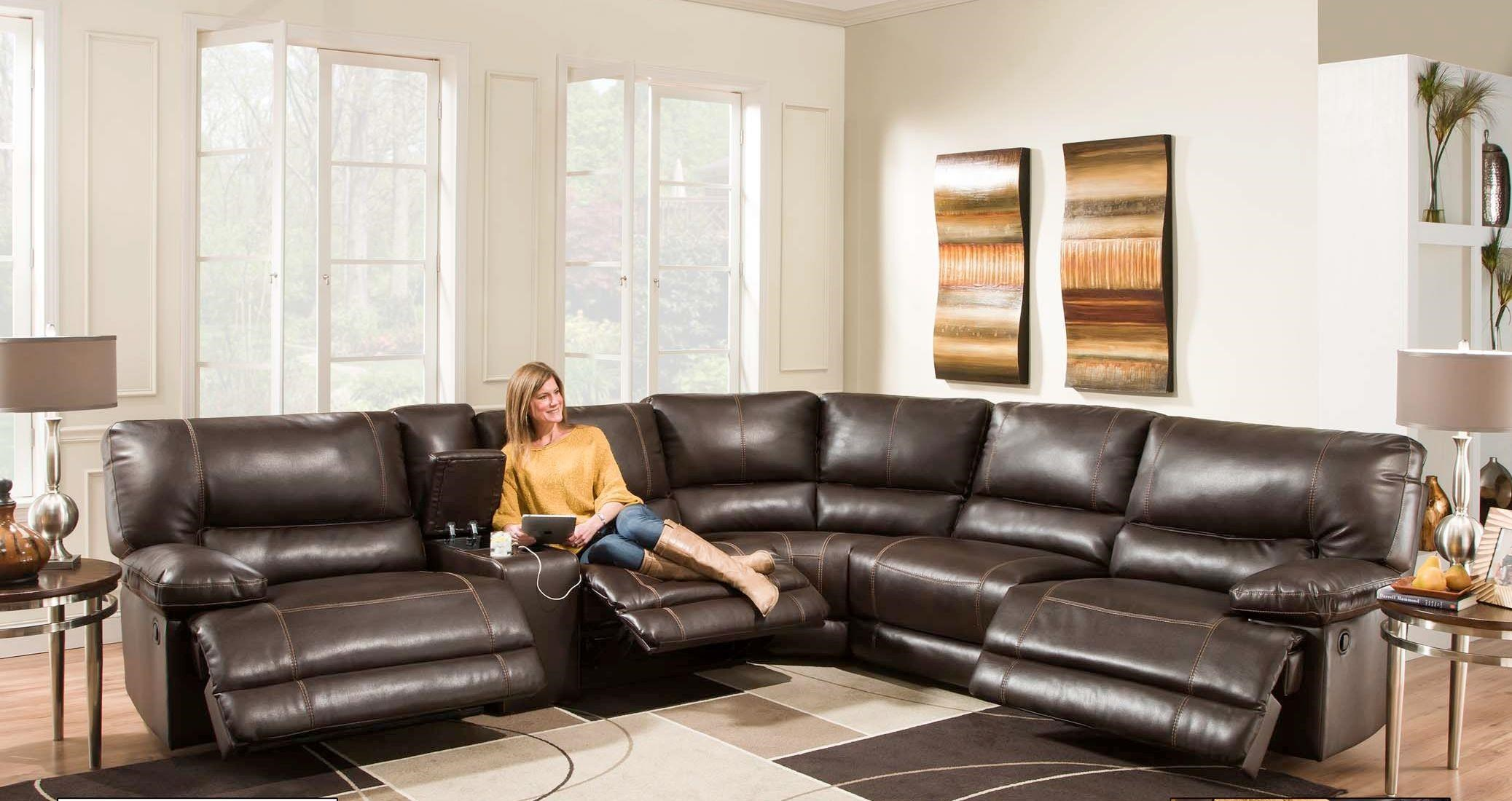 american furniture living room sectionals tables big lots af800 reclining sectional sofa seats 5
