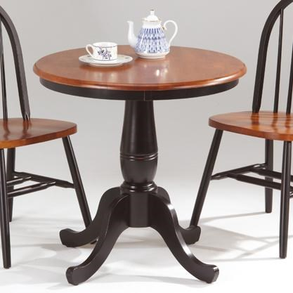 Pedestal Chair Farmhouse And Traditional Windsor Round Pedestal Table By Amesbury Chair At Dinette Depot