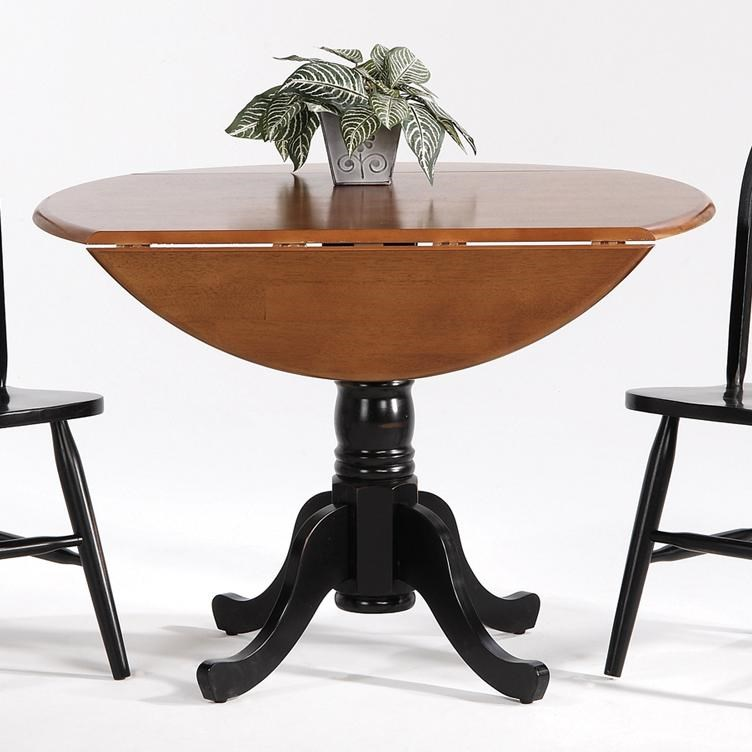 Pedestal Chair Farmhouse And Traditional Windsor Drop Leaf Pedestal Round Table By Amesbury Chair At Superstore