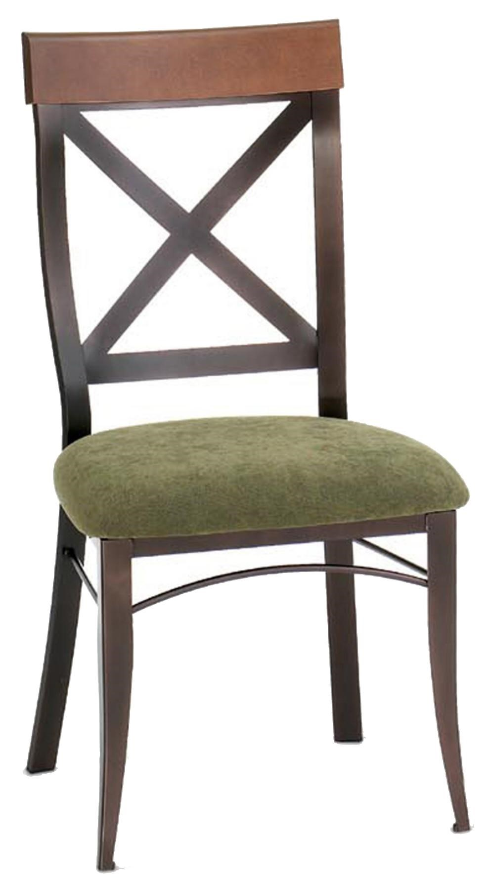 Country Kitchen Chairs Countryside Kyle Kitchen Side Chair In Rustic Country Style By Amisco At Dunk Bright Furniture