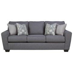 Navasota Charcoal Sofa Ashley Furniture Sleep Number Queen Sleepers Benchcraft Barrish Contemporary ...