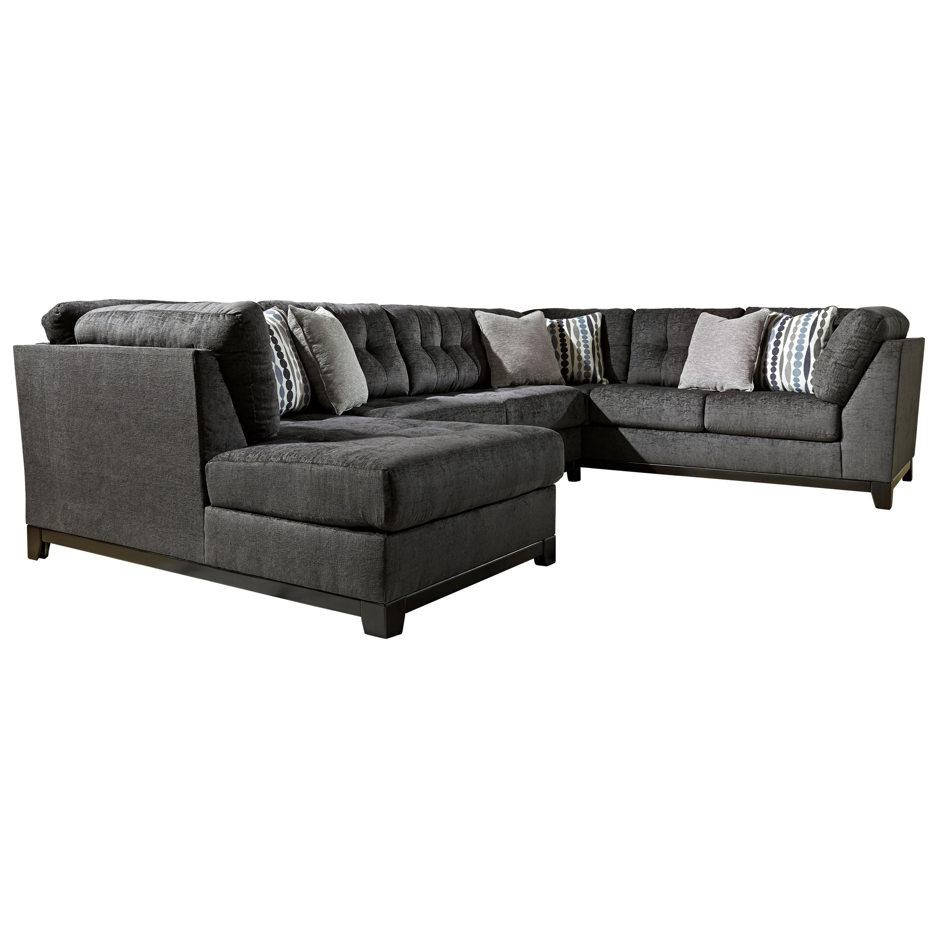reidshire sectional sofa with left side chaise