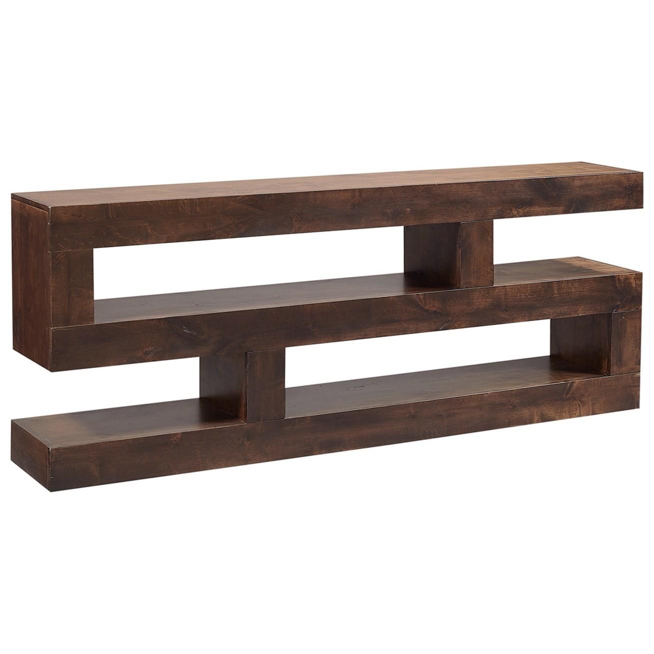 nova alder console table tv stand