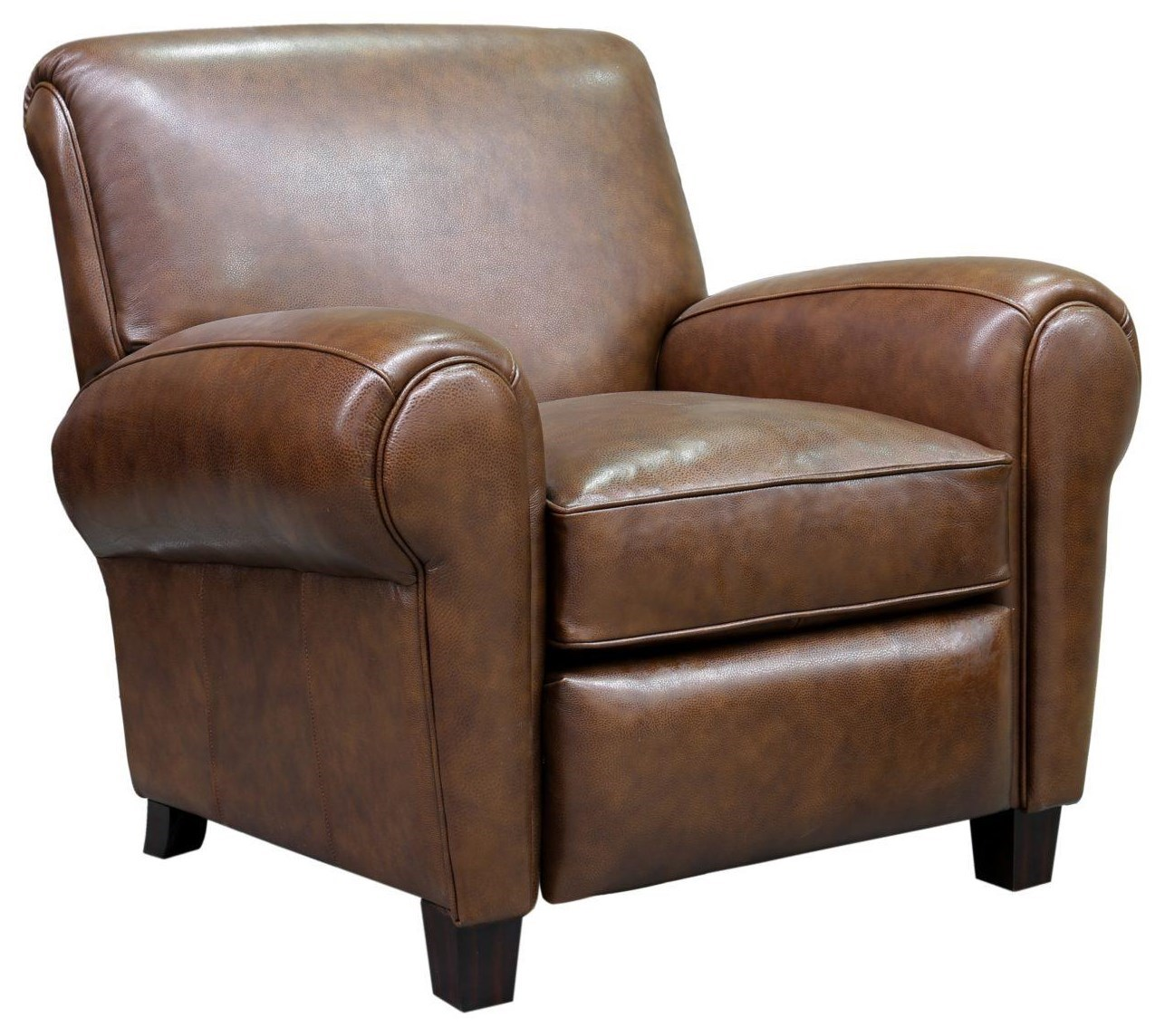 Double Recliner Chair Edwin Wenlock Double Chocolate Push Thru Arm Recliner By Barcalounger At Dream Home Furniture