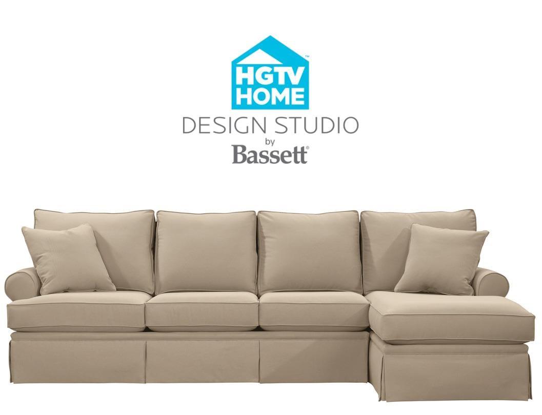 Bassett HGTV Home Design Studio Customizable C Shaped Single