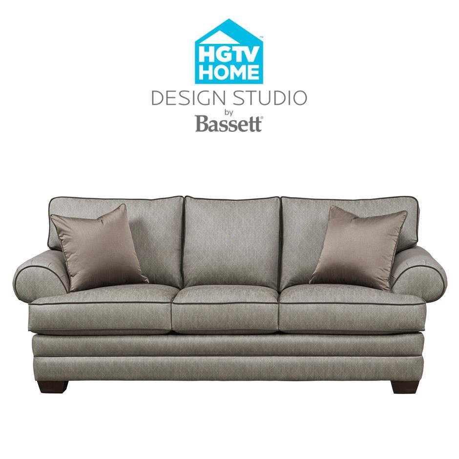 Bassett HGTV Home Design Studio Customizable Studio Sofa Great