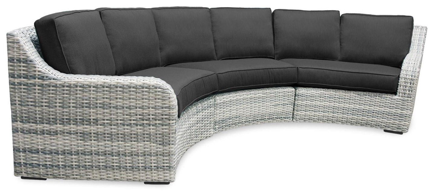 sunbrella fabric sectional sofas moving sofa problem solutions southern shores 3pc outdoor w