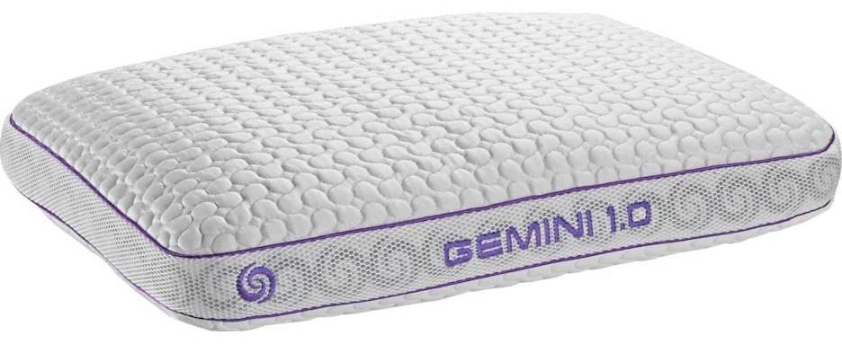 gemini queen 1 0 stomach sleeper pillow