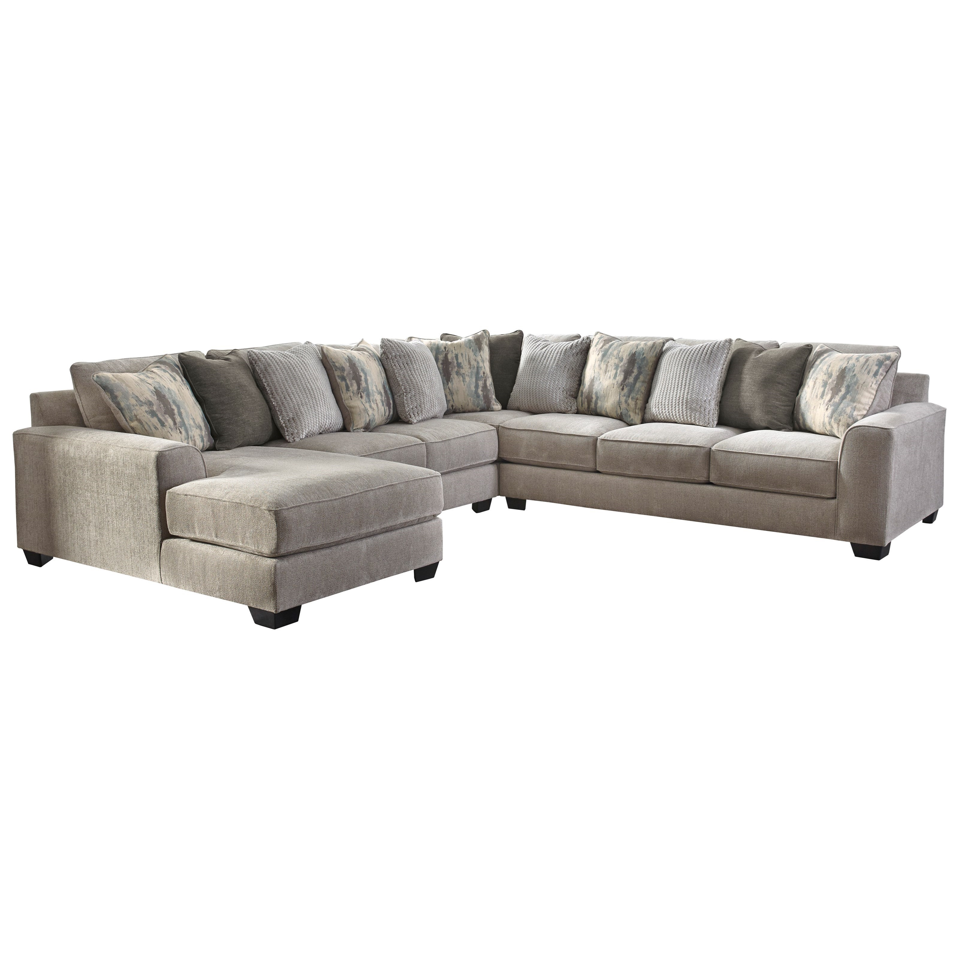 ardsley 4 piece sectional with left chaise