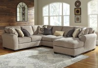 Benchcraft Pantomine 4-Piece Sectional with Right Chaise ...