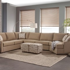 Elliot Fabric Sectional Living Room Furniture Collection Swivel Chairs Belfort Essentials Eliot Transitional Sofa