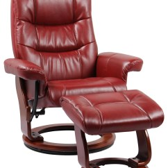 Red Recliner Chairs Marcel Breuer Cesca Chair Replacement Cane Seat Benchmaster Rosa Ii 7583kred Stress Free Otto Furniture