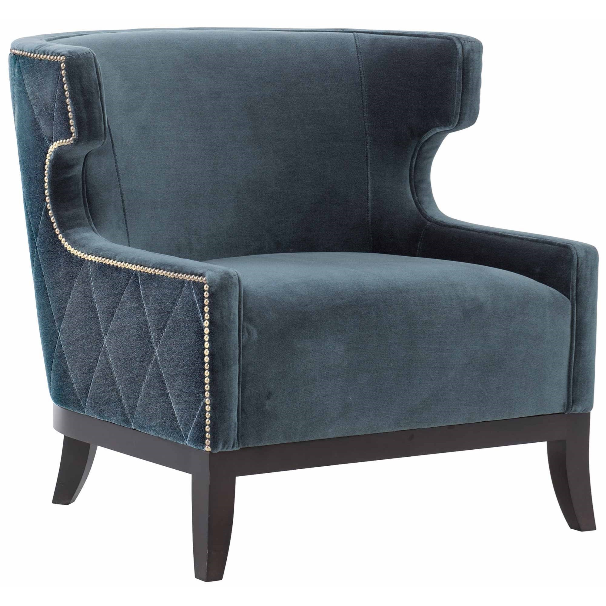 Bernhardt Emma Transitional Barrel Back Chair With Nailheads And Diamond Stitching Sheely S Furniture Appliance Upholstered Chairs
