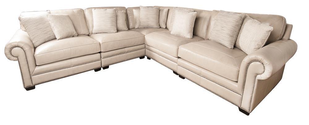 leather sectional sofas buy bernhardt grandview 100 sofa with nail head trim grandviewgrandview