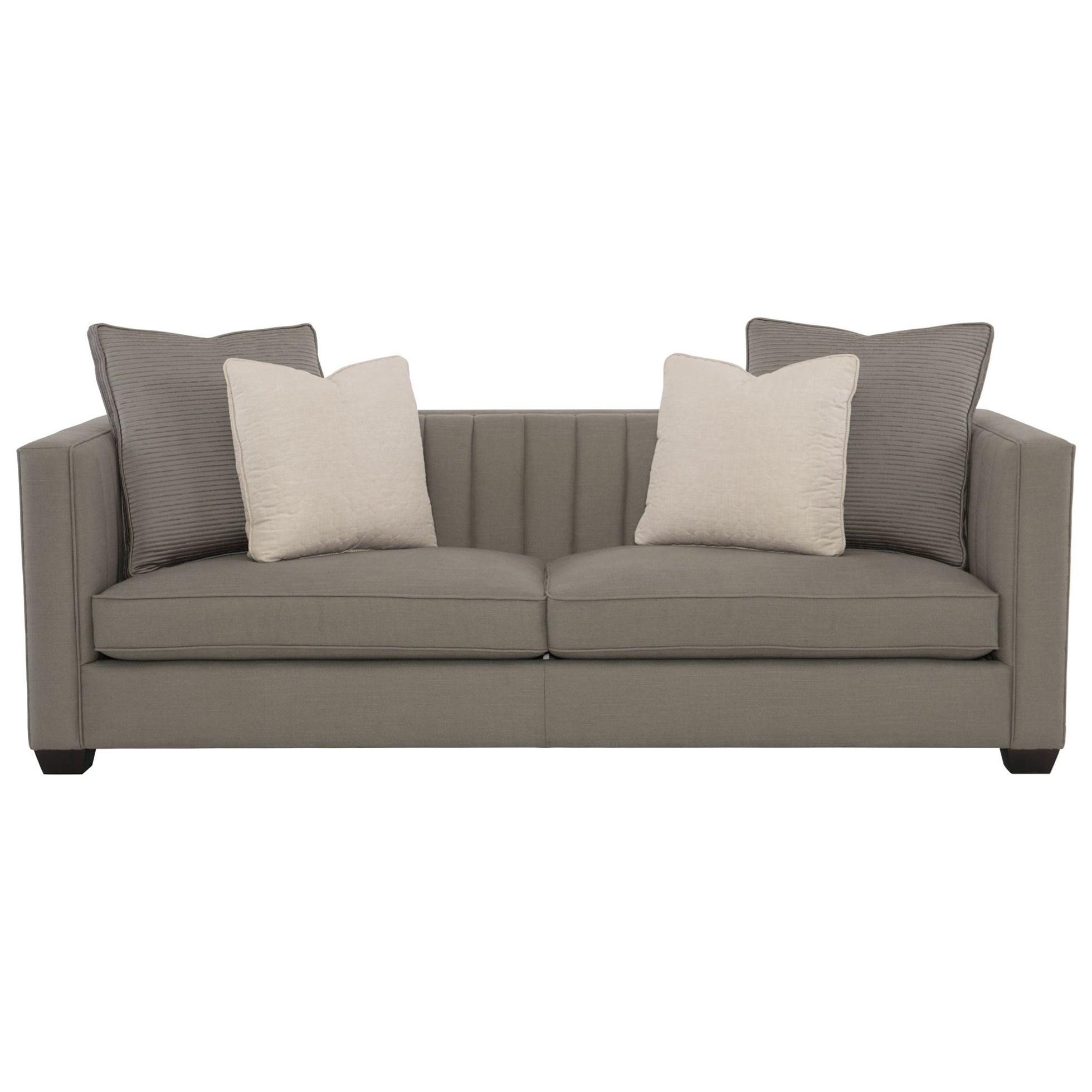 bernhardt sofas italia uk noah contemporary sofa with line tufting adcock