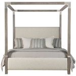 Bernhardt Palma California King Upholstered Canopy Bed Howell Furniture Canopy Beds