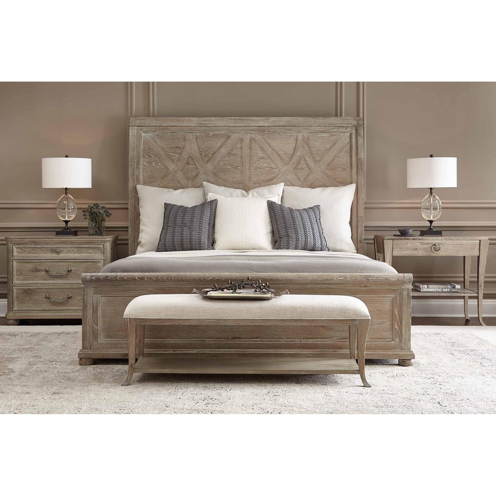 Bernhardt Rustic Patina California King Bedroom Group Dunk Bright Furniture Bedroom Groups