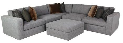 stafford 5 piece sectional ottoman sold separately by bernhardt at sprintz furniture