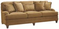 Bernhardt Tarleton Traditional Styled Stationary Sofa ...