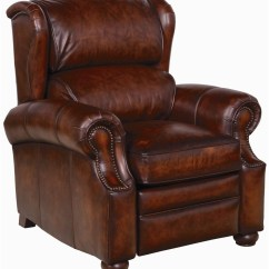 Bernhardt Brown Leather Club Chair Low Chairs For Adults Upholstered Accents Warner Recliner Belfort
