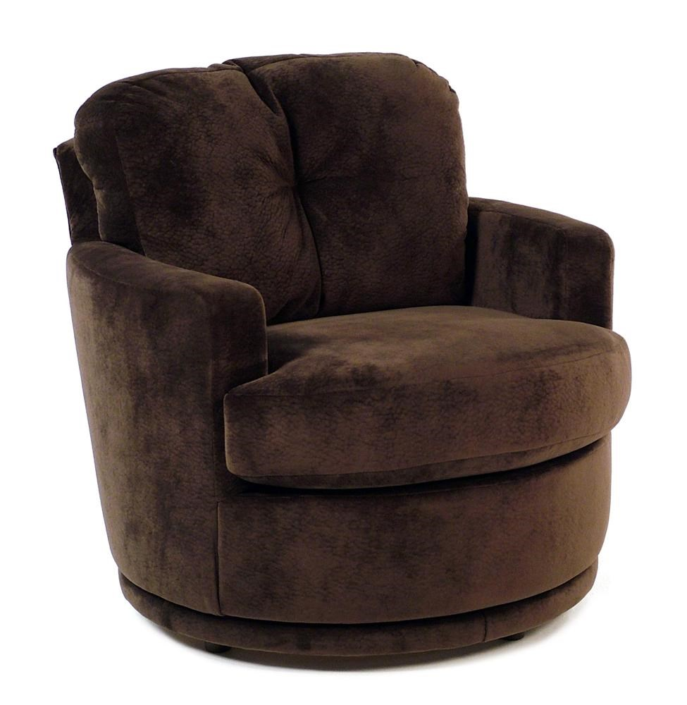 Plush Chairs Chairs Swivel Barrel Swivel Chair W Plush Tufted Back By Best Home Furnishings At Rotmans