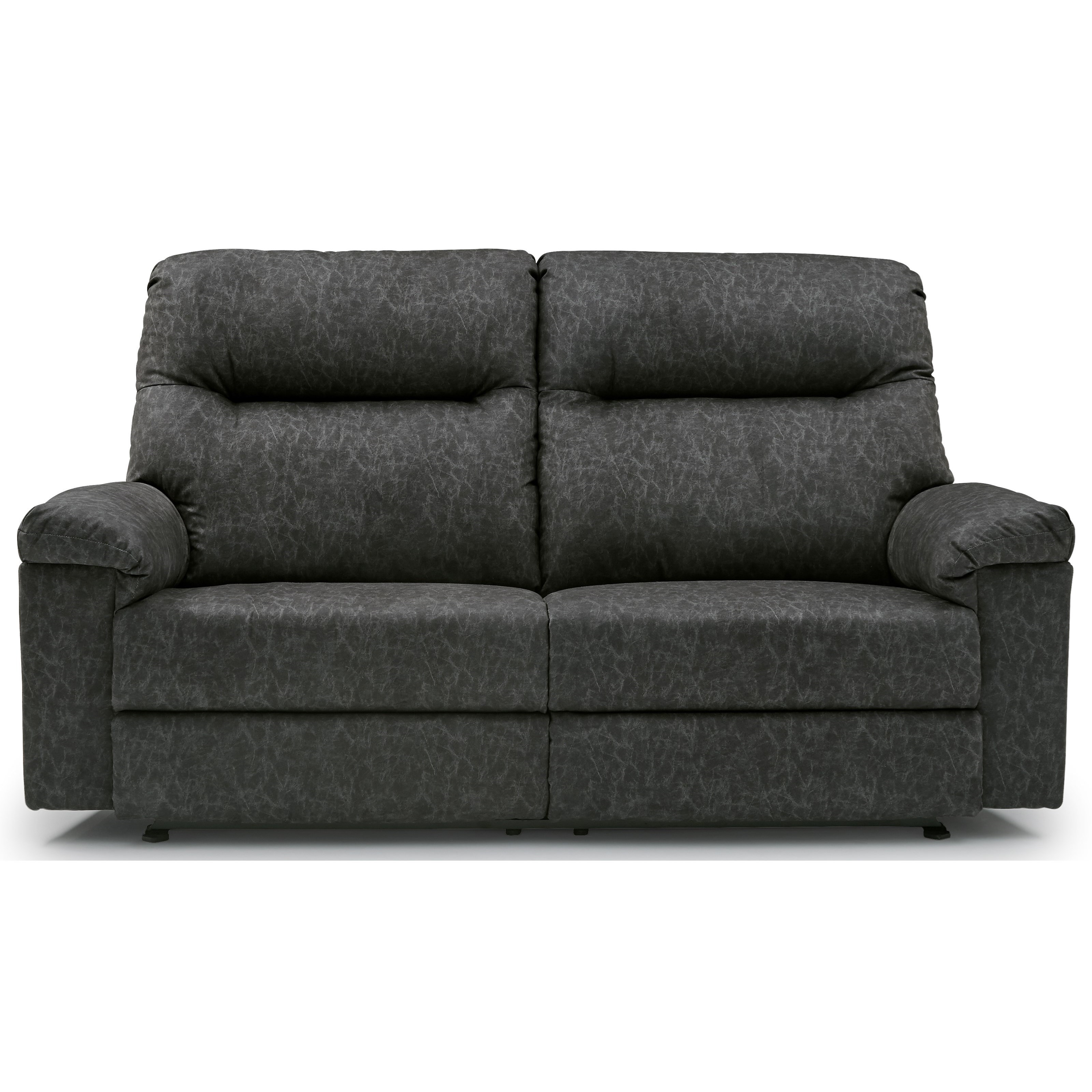 wall sofa sabrina best home furnishings bayley casual saver reclining with pillow arms