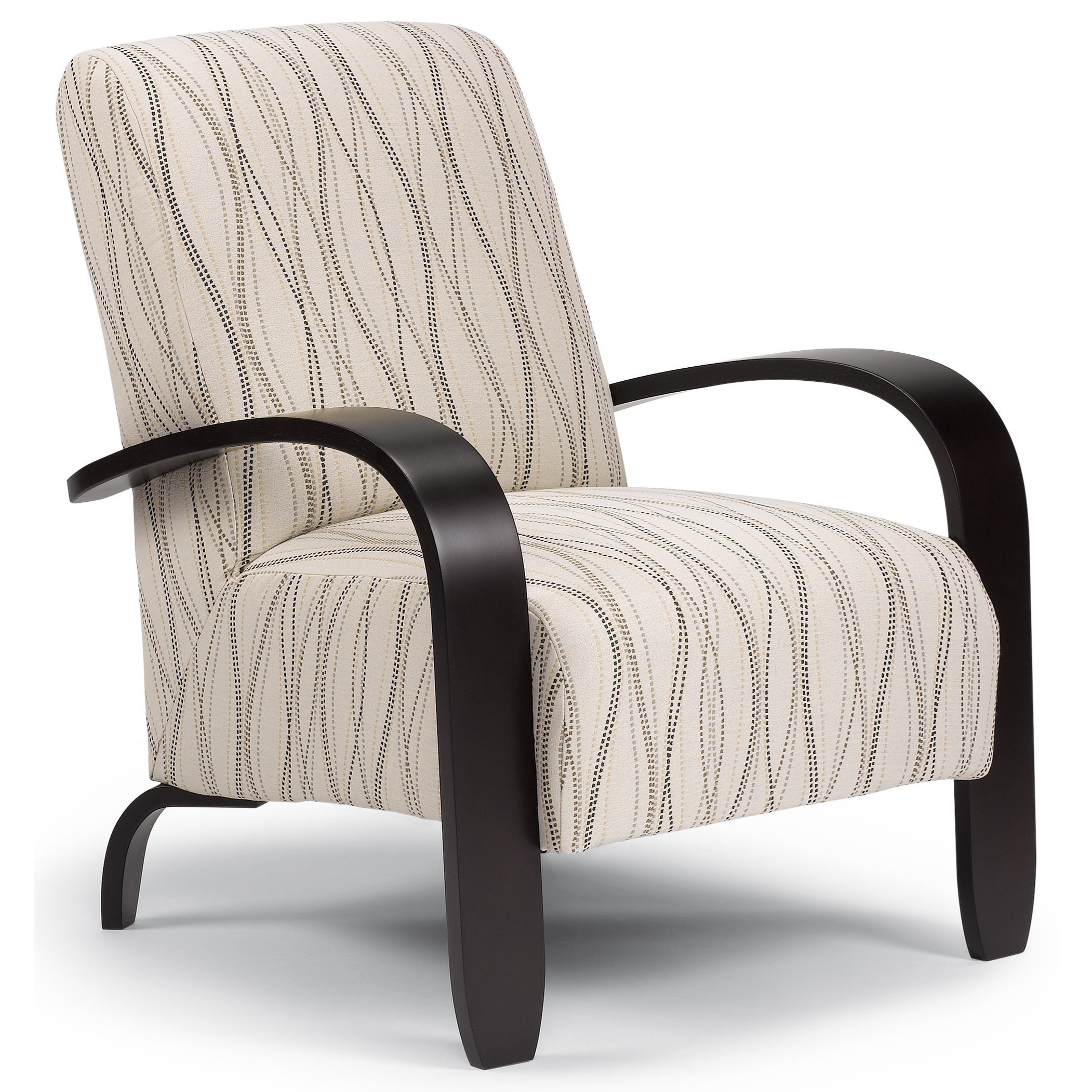 Wood Club Chair Accent Chairs Maravu Exposed Wood Accent Chair By Best Home Furnishings At Conlin S Furniture