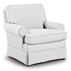 Cheap Glider Chair Desk Chairs Amazon Best Home Furnishings Swivel Glide Quinn Without Welt Cord Trim