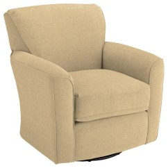 Swivel Arm Chairs Walmart Folding Lawn Best Home Furnishings Glide Kaylee Barrel Chairskaylee Chair